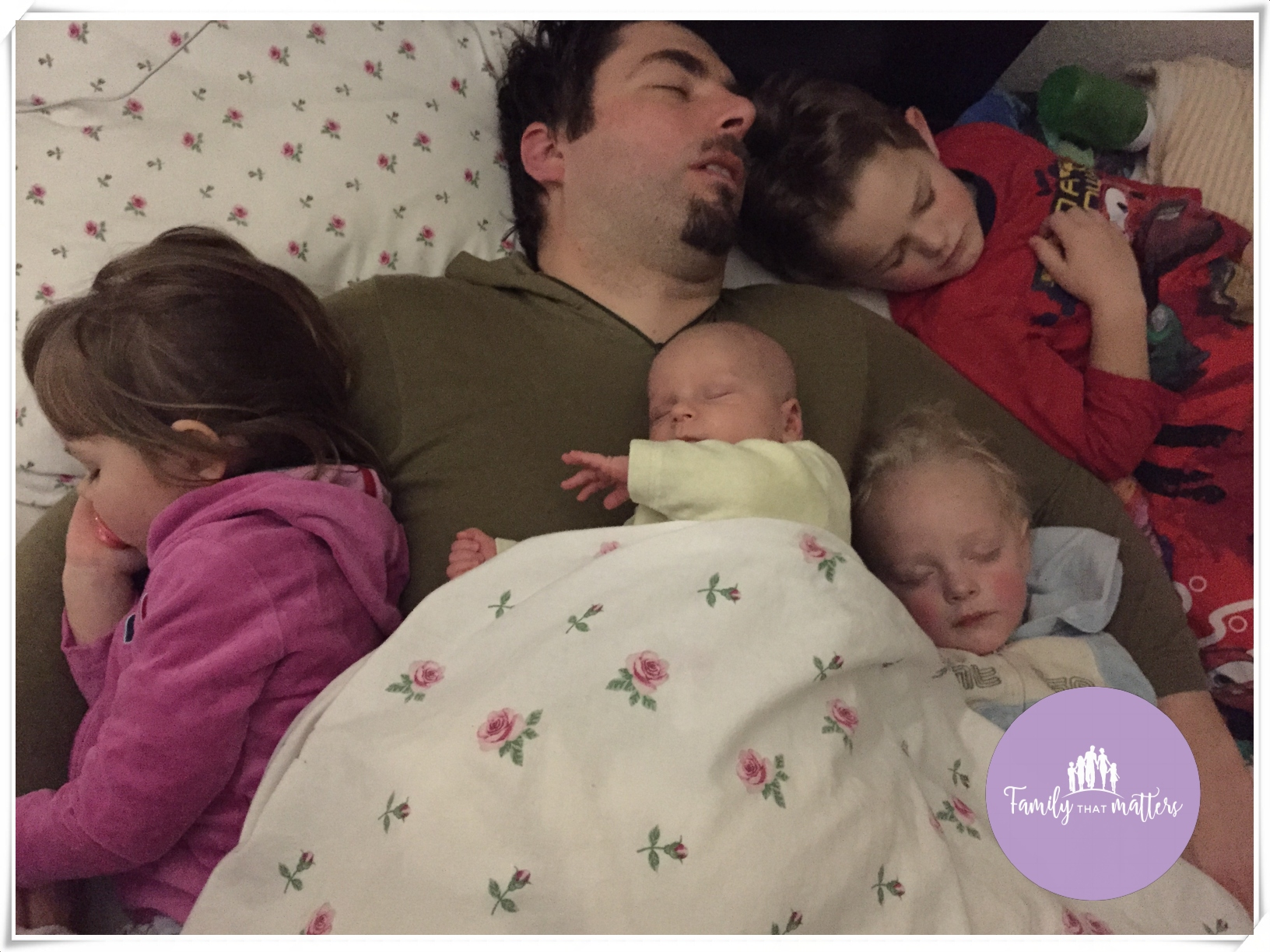 Why we have a family bed and how it works for us